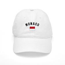 Monaco Flag Baseball Cap