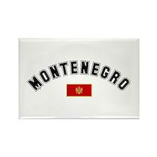 Montenegro Flag Rectangle Magnet (100 pack)
