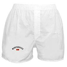 Montenegro Flag Boxer Shorts