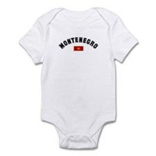 Montenegro Flag Infant Bodysuit