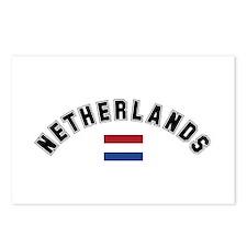 Netherlands Flag Postcards (Package of 8)
