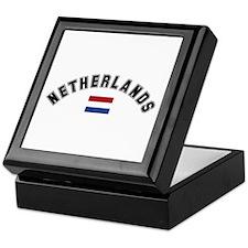 Netherlands Flag Keepsake Box