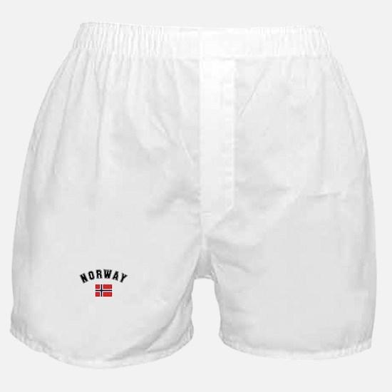 Norwegian Flag Boxer Shorts