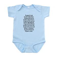 World Religions Coexist Infant Bodysuit