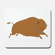 Brown Buffalo Mousepad