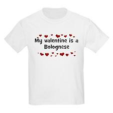 Bolognese valentine Kids T-Shirt