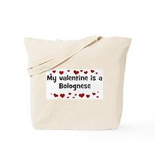 Bolognese valentine Tote Bag