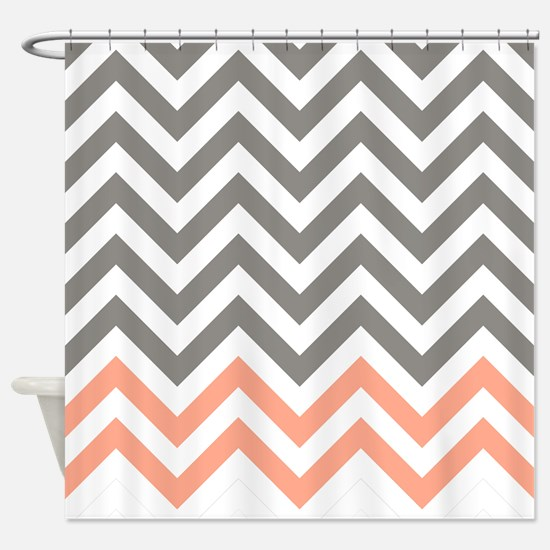 grey and coral shower curtain. Glamorous Grey And Coral Shower Curtain Photos  Best idea home Gallery inspiration