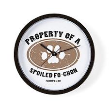 Fo-Chon dog Wall Clock