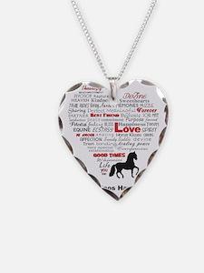 Paso Finos Have Heart Necklace