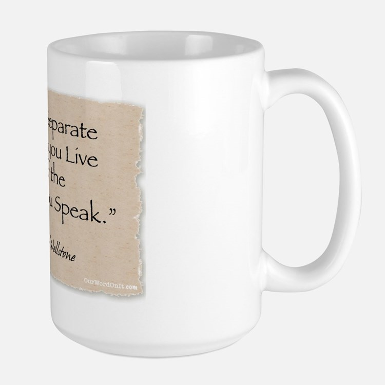 Large Mug: Wellstone