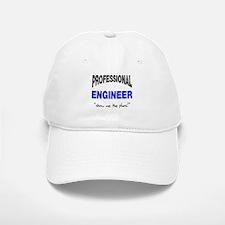 Professional Engineer Baseball Baseball Cap
