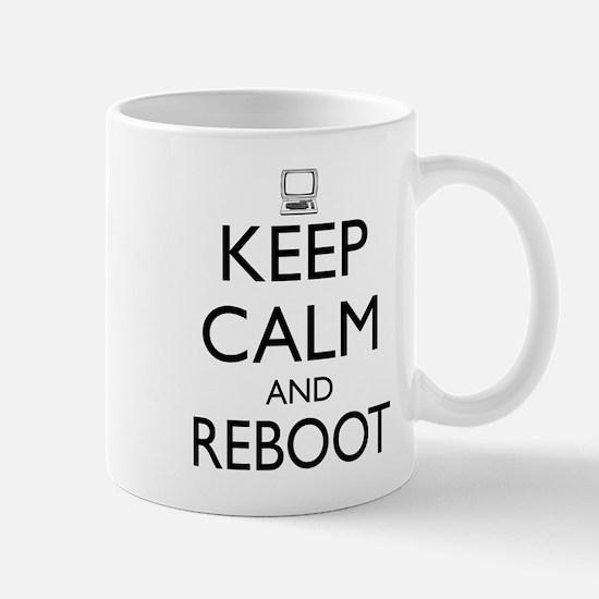 Keep calm and reboot Mugs