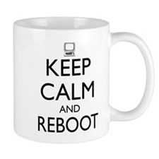Keep calm and reboot Mugs