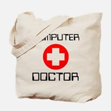Computer Doctor Tote Bag