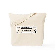 Proud Parent: KOMONDOR Tote Bag