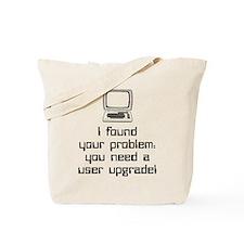 User Upgrade Tote Bag