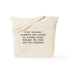 Loose Screw Computer Tote Bag