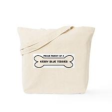 Proud Parent: KERRY BLUE TERR Tote Bag