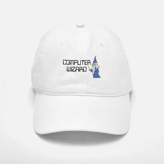 Computer Wizard Baseball Baseball Cap