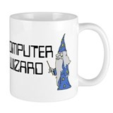 Computer wizard Small Mugs (11 oz)