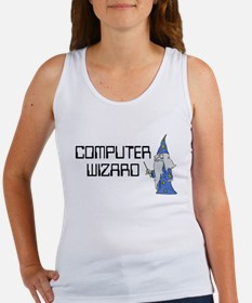 Computer Wizard Women's Tank Top