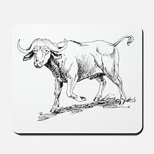 Buffalo Sketch Mousepad