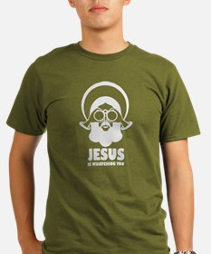 Jesus is whatching you T-Shirt