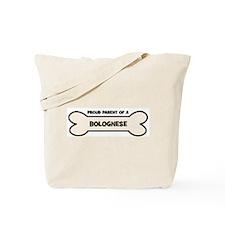 Proud Parent: BOLOGNESE Tote Bag