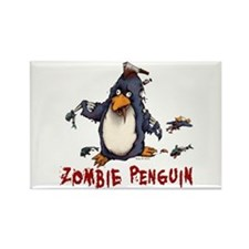 Zombie Penguin Magnets