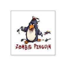 Zombie Penguin Sticker
