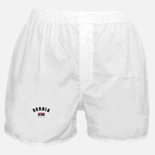 Serbian Flag Boxer Shorts