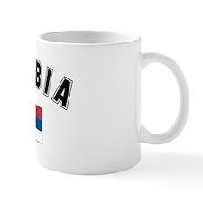 Serbian Flag Coffee Mug