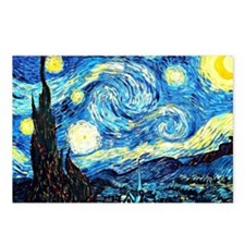Van Gogh - Starry Night Postcards (Package of 8)