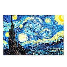 Van Gogh - Starry Night Postcards (Package of 8)