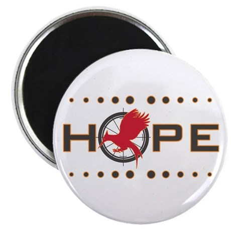 """Catching Fire Hope 2.25"""" Magnet (10 pack)"""