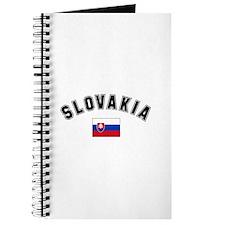 Slovakia Flag Journal