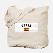 Spanish Flag Tote Bag