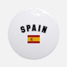 Spanish Flag Ornament (Round)