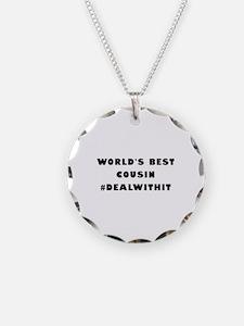 World's Best Cousin (Hashtag) Necklace