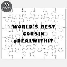 World's Best Cousin (Hashtag) Puzzle