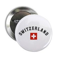 Swiss Flag Button