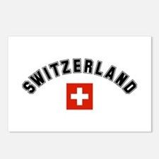 Swiss Flag Postcards (Package of 8)