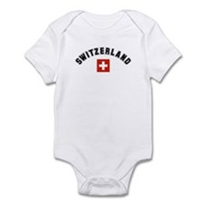Swiss Flag Infant Bodysuit