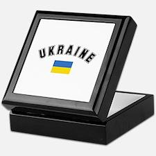 Ukrainian Flag Keepsake Box