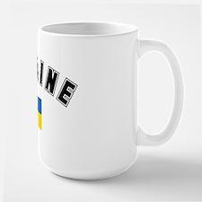 Ukrainian Flag Large Mug