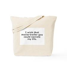 Movie-Trailer Guy Tote Bag