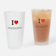 Mississippi Drinking Glass