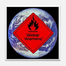 Global Warming Tile Coaster