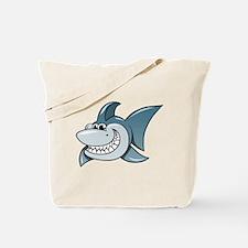 Cartoon Shark Tote Bag